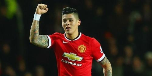 (OFICIAL) Manchester United renueva con Marcos Rojo