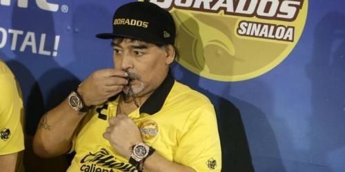 (OFICIAL) Maradona fue internado en una clínica