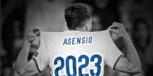 (OFICIAL) Marco Asensio tiene todo listo para renovar con el Madrid