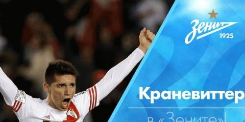 (OFICIAL) Matías Kranevitter, nuevo jugador del Zenit de San Petersburgo