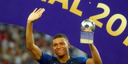 (OFICIAL) Mbappe mejor jugador joven del Mundial