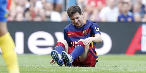 OFICIAL: Messi será baja por 7 u 8 semanas (VIDEO)