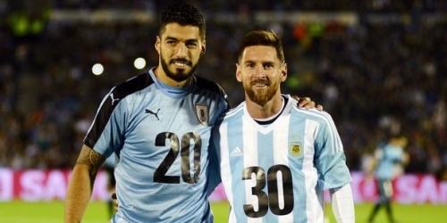 (OFICIAL) Messi y Suarez, máximos goleadores de la historia en las Eliminatorias de Sudamérica