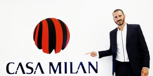 (OFICIAL) Milan, Bonucci comandará la zaga del club lombardo
