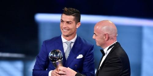(OFICIAL) Mundo, conoce aquí a todos los ganadores de los premios 'The Best' de la FIFA