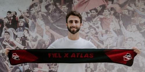 (OFICIAL) Nico Pareja jugará en el Atlas de Guadalajara