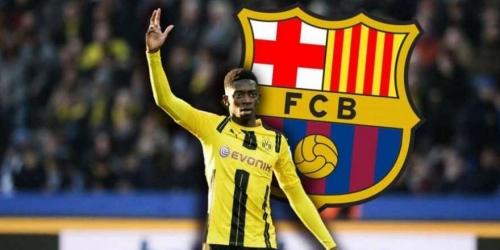 (OFICIAL) Ousmane Dembélé ahora sí es jugador del FC Barcelona
