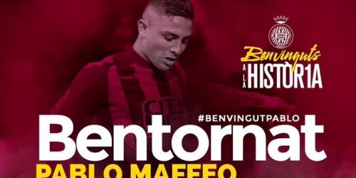 (OFICIAL) Pablo Maffeo vuelve a ser del Girona