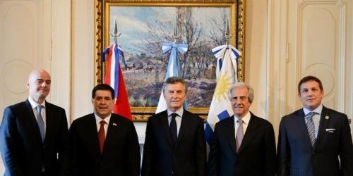 (OFICIAL) Presentada la candidatura de Argentina, Uruguay y Paraguay para el Mundial 2030