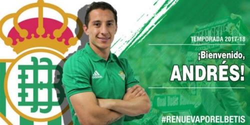 (OFICIAL) Real Betis se refuerza con referente mexicano