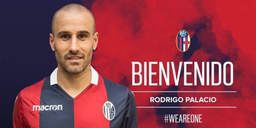 (OFICIAL) Rodrigo Palacio es el nuevo jugador del Bolonia