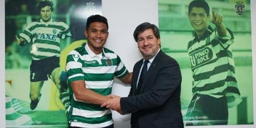 OFICIAL: Teo Gutiérrez es jugador del Sporting Lisboa