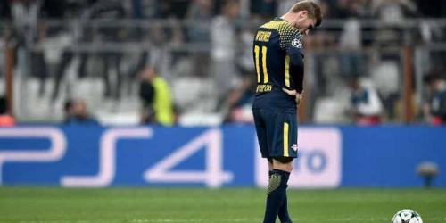 (OFICIAL) Timo Werner, baja para el partido frente al Dortmund