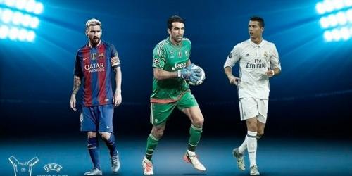 (OFICIAL) UEFA, nominados a Mejor Jugador de Europa 2016/2017