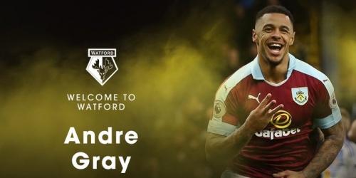 (OFICIAL) Watford confirma fichaje de Andre Gray