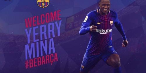 (OFICIAL) ¡Yerri Mina ya es del Barça!