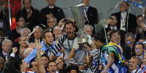 Oporto ganó la Europa League con gol de Falcao