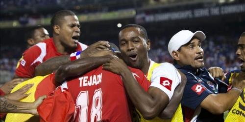 Panamá gana a El Salvador y se mete en semifinales