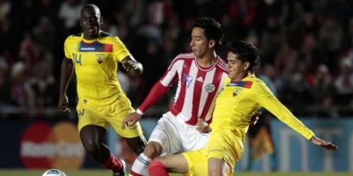 Paraguay y Ecuador debutaron con un empate