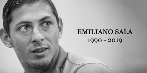 Paz en la tumba de Emiliano Sala