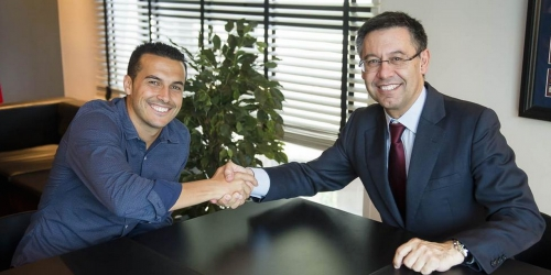 OFICIAL: Pedro y Jordi Alba renovaron con el Barça