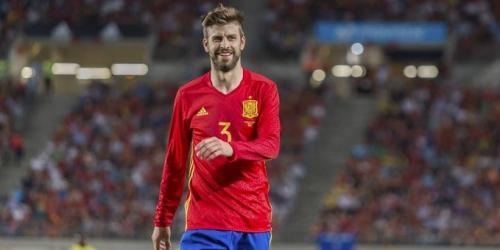"""Pique: """"Los jugadores del Madrid ya no suben fotos enseñando músculos"""""""