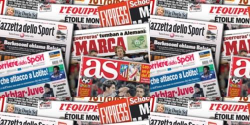 Portadas: Así lucen los titulares de hoy en Europa y América