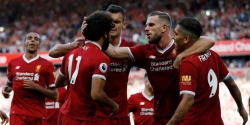 Premier League, el Arsenal cae por goleada ante el Liverpool