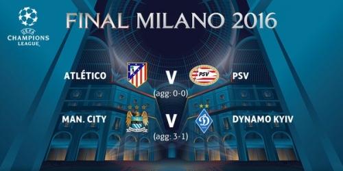 (PREVIA) Champions League, probables alineaciones de Atlético, PSV, City y Kiev