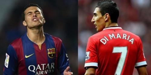 PSG, la meta ahora es Di María o Pedro