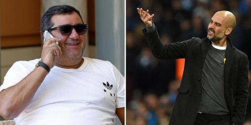 """Raiola: """"Pep Guardiola es un cero absoluto. Él es un cobarde, un perro"""""""
