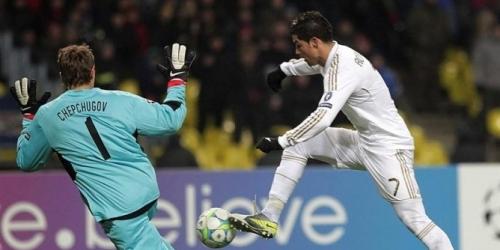 Real Madrid empató en la ida de los octavos de final