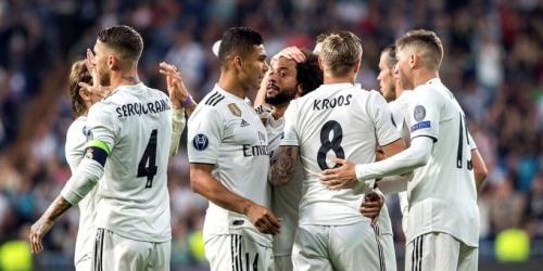 Real Madrid histórico de Europa