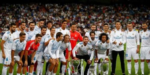Real Madrid, la plantilla más valiosa del mundo