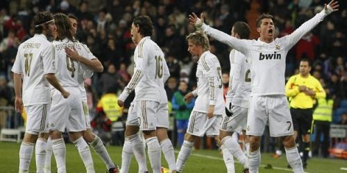 Real Madrid puso las manos en el título de la Liga