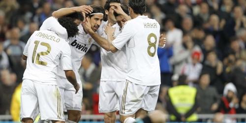 Real Madrid volvió a golear en la Liga BBVA