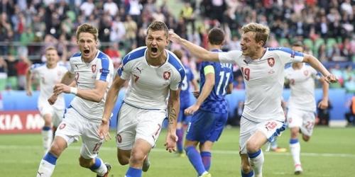 (VIDEO) Eurocopa, remontada de República Checa en el 2-2 frente a Croacia