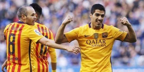 (RESUMEN) España, Barcelona goleó y mantuvo el liderato de la Liga BBVA