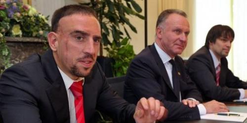 Ribery comparece ante el TAS para anular la suspensión