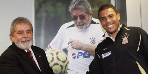 Ronaldo habla del Mundial 2014 con Lula
