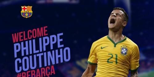 (RUMOR) Coutinho sería anunciado hoy como nuevo fichaje del FC Barcelona