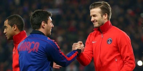 (RUMOR) David Beckham quiere a Messi en su equipo