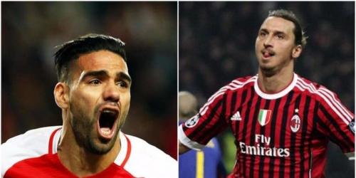 (RUMOR) El AC Milan en busca de Radamel Falcao y Zlatan Ibrahimovic