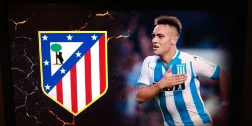(RUMOR) El Atlético de Madrid en busca de Lautaro Martinez