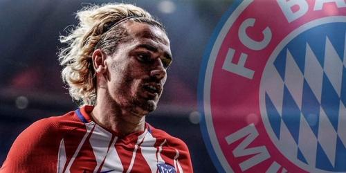 (RUMOR) El Bayern irá con todo por Griezmann el próximo año
