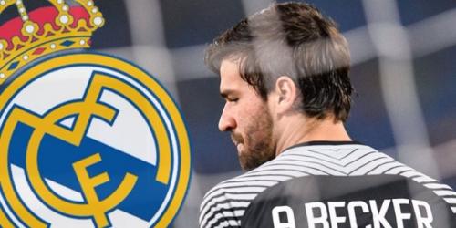 (RUMOR) El Real Madrid no fichará a Alisson a cualquier precio