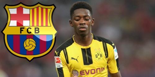 (RUMOR) FC Barcelona, Dembélé se ausentó del entrenamiento del Dortmund y aviva rumores