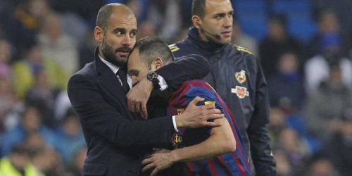 (RUMOR) Guardiola le da otra opción a Iniesta