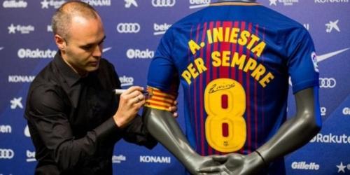 (RUMOR) Iniesta se despediría del Barça tras la final de la Copa del Rey