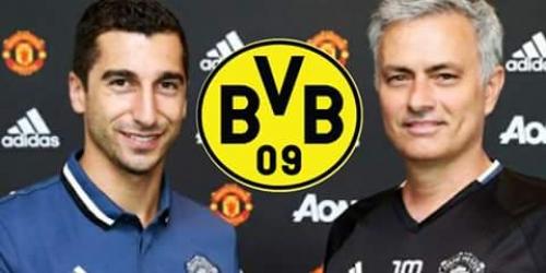 (RUMOR) Mkhitaryan podría regresar al Borussia Dortmund